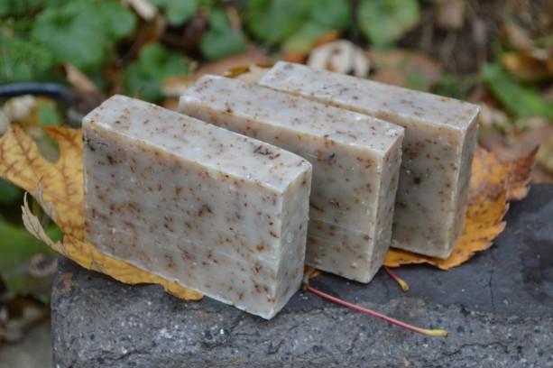 2 Peppermint Soap Bars
