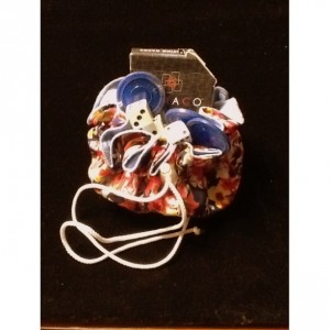 Floral jewelry pouch