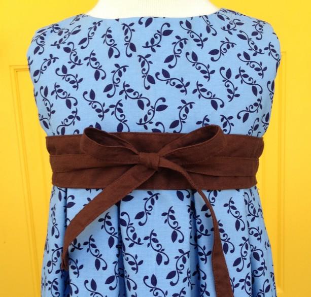 Girls Tea Length Day Dress
