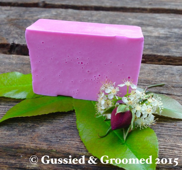 "2 ""Rosie Posie"" soap bars for $12"