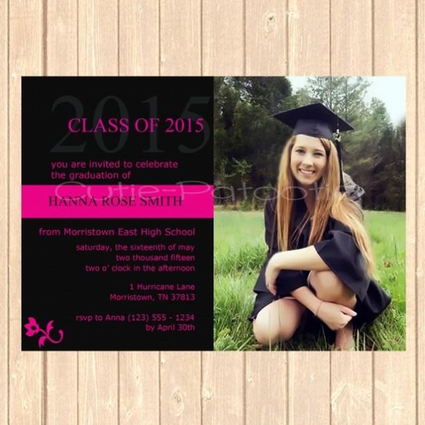 personalized graduation announcement aftcra