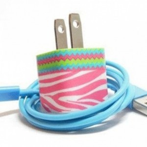 Pink Ribbon Sass Cell Phone Charger