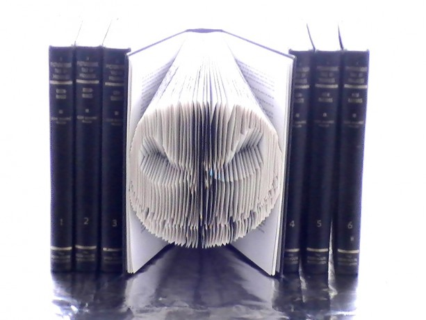 Jack Skellington Book Origami