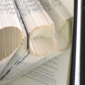 Couples Love Personalized Book Origami