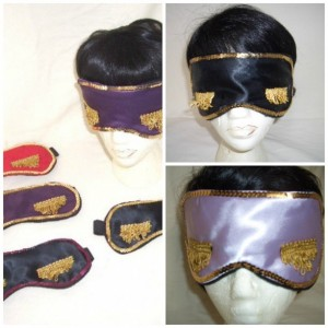 Sequin Embellished Sleep Mask