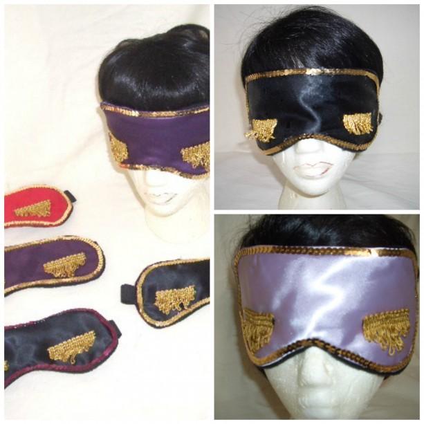 Sequin Embellished Sleep Mask