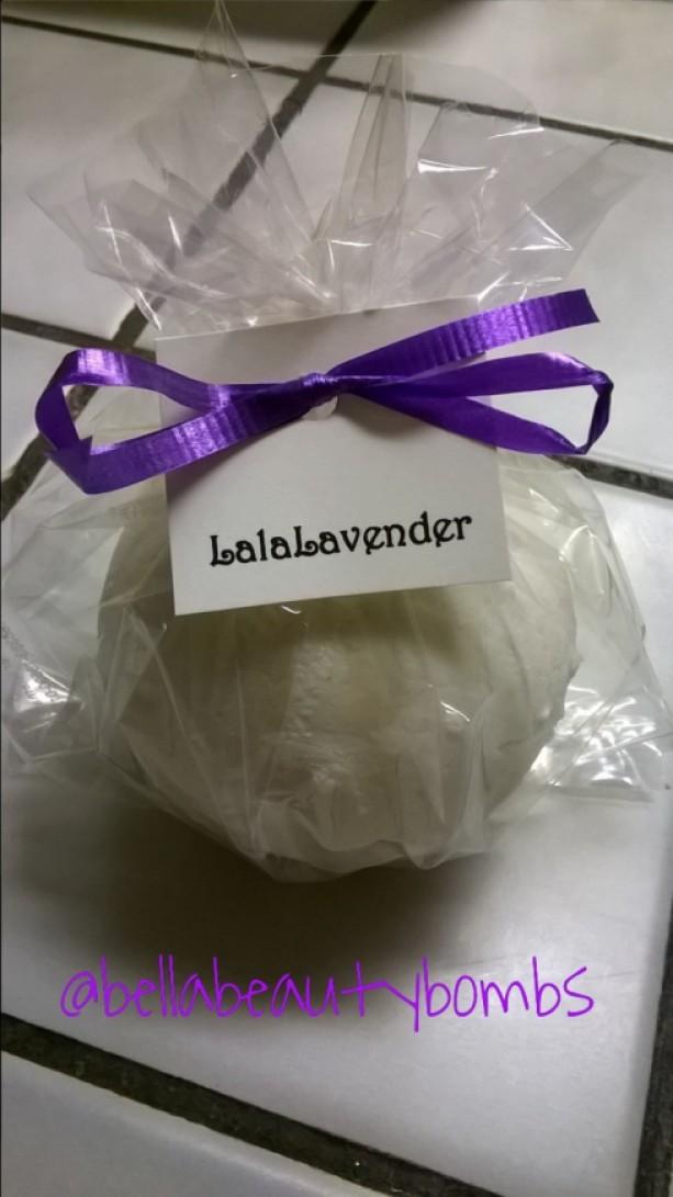 Lalalavender Set of 2 bathbombs