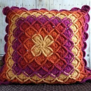 Bohemian Blossom Pillow Cover