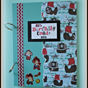 Birthday Card Keepsake Book
