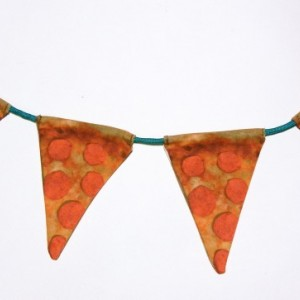 pizza party pennants!