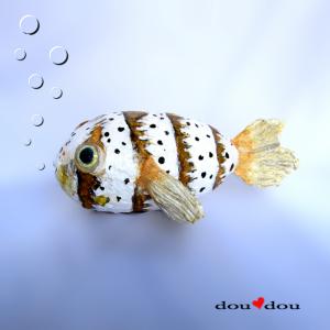 Puffer Fish Sculpture