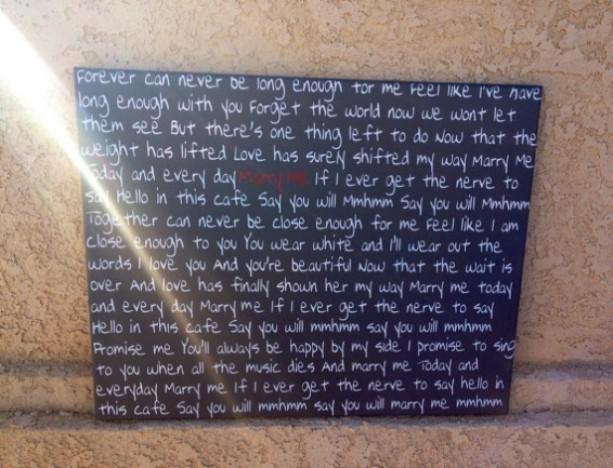 Song Lyrics On Canvas Home Decor Custom Canvas Music