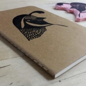 California Quail Pocket Size Moleskine Notebook Journal
