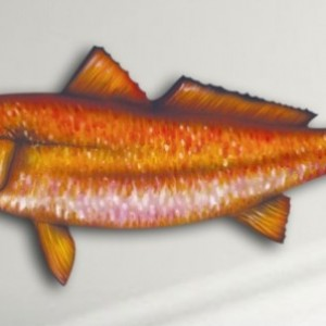 "14"" Redfish Salt Water Game Fish Replica, Wall Mount, Decor, Nautical Art, Gift"