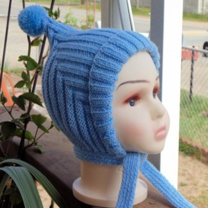 Ribbed Hat- Knit Toddler Hat