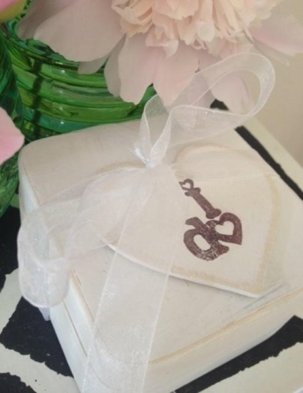 Rustic Ring Bearer Box -Ring Bearer Pillow Ring Box Rustic Woodland WEDDING Shabby Chic Wedding