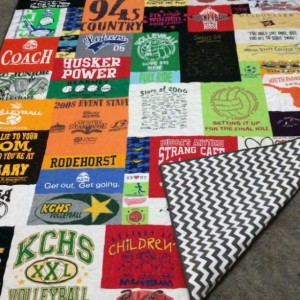 Custom Puzzle Style T-Shirt/Memory Quilt  - 56-70 T-Shirts