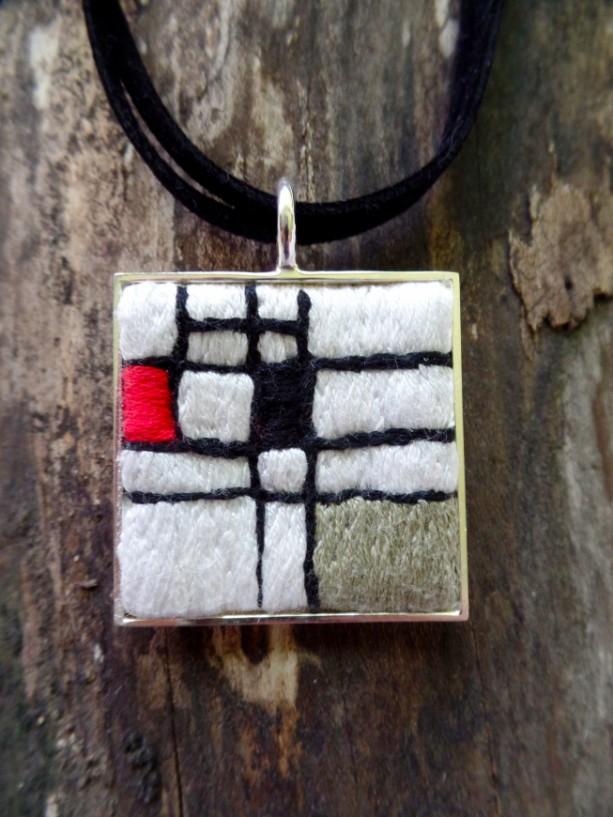 Mondrian Necklace