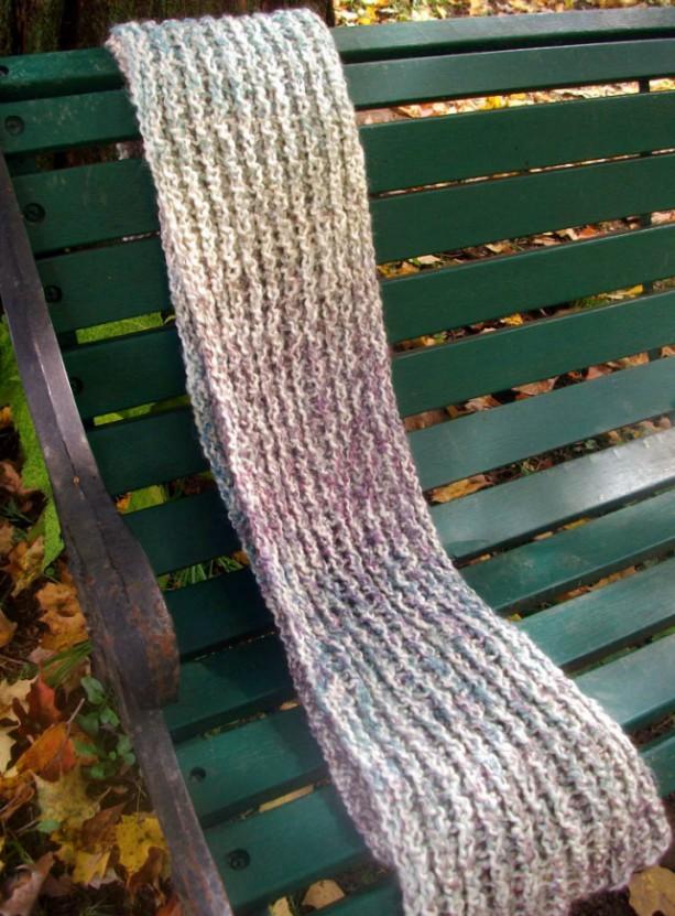 """""""Tudor"""" Hand-Knit Scarf"""