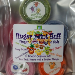 Finger Paint Fluff Soap Paint For Kids Kit of 5 Scents