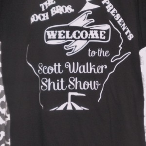 """Koch Brothers, Welcome to the Scott Walker S*** Show"""