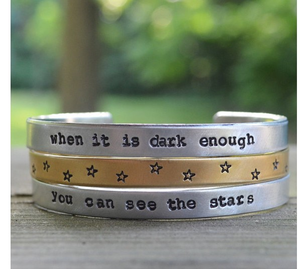 You Can See the Stars Cuff Bracelet Set