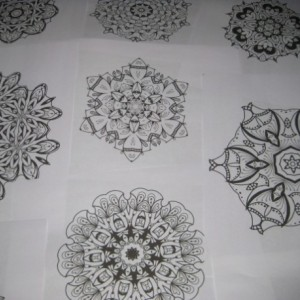 Mandala Kaleidoscope Coloring Pages Cd - Volume 10 - Free Shipping