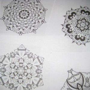Mandala Kaleidoscope Coloring Pages Cd - Volume 10 - Free Shipping