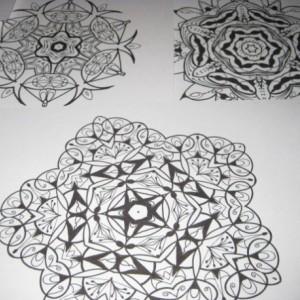 Mandala Kaleidoscope Coloring Pages Cd - Volume 2 - Free Shipping