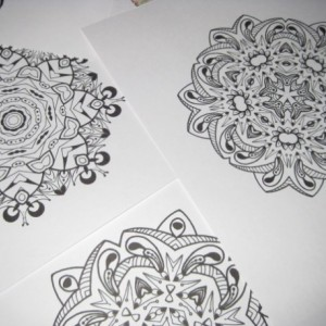 Mandala Kaleidoscope Coloring Pages Cd - Volume 2 - Free Shipping