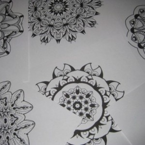 Mandala Kaleidoscope Coloring Pages Cd - Volume 3 - Free Shipping