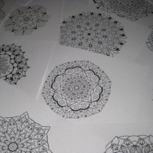 Mandala Kaleidoscope Coloring Pages Cd - Volume 4 - Free Shipping