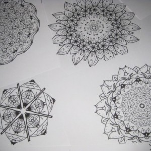 Mandala Kaleidoscope Coloring Pages Cd - Volume 5 - Free Shipping