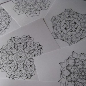 Mandala Kaleidoscope Coloring Pages Cd - Volume 6 - Free Shipping
