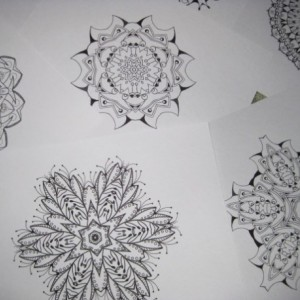 Mandala Kaleidoscope Coloring Pages Cd - Volume 7 - Free Shipping