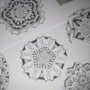 Mandala Kaleidoscope Coloring Pages Cd - Volume 8 - Free Shipping