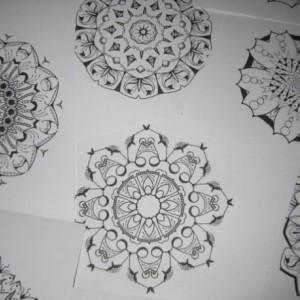 Mandala Kaleidoscope Coloring Pages Cd - Volume 8 - Free Shipping