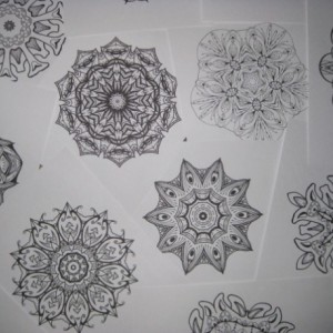 Mandala Kaleidoscope Coloring Pages Cd - Volume 9 - Free Shipping