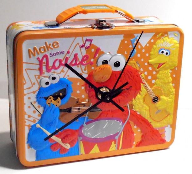 Elmo Lunch Box Clock