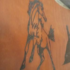 Best Barnwood Leather Sign