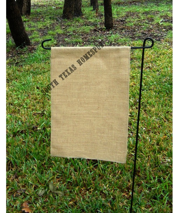 2 pack of Burlap Garden Flag Blanks ready to decorate wiht Vinyl