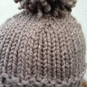 SKI BUM knitted hat / ski hat / winter hat