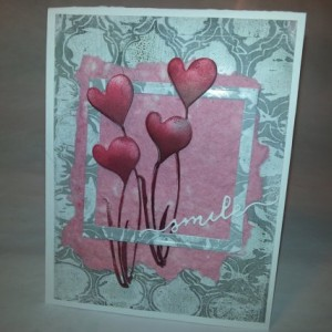 Soft Caress (set of two cards)