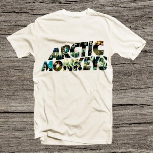 Arctic Monkeys Unisex T Shirt for Him Her Short Sleeve