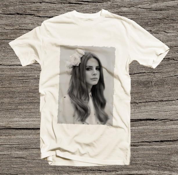 Lana Del Rey Short Sleeve Unisex T Shirt for Him Her