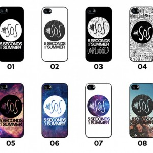 5 Seconds of Summer 5SOS iPhone Case 5/5S, 4/4S