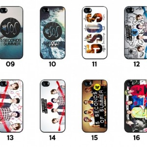5 Seconds of Summer 5SOS iPhone Case 5/5S, 4/4S