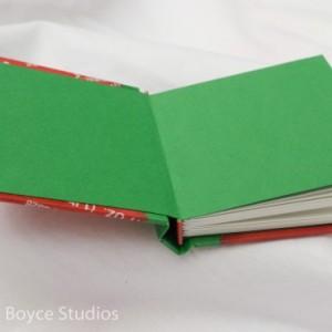 Sriracha Book - a hot little handmade keepsake blank sketchbook - hot sauce Collectible notebook journal diary gift red