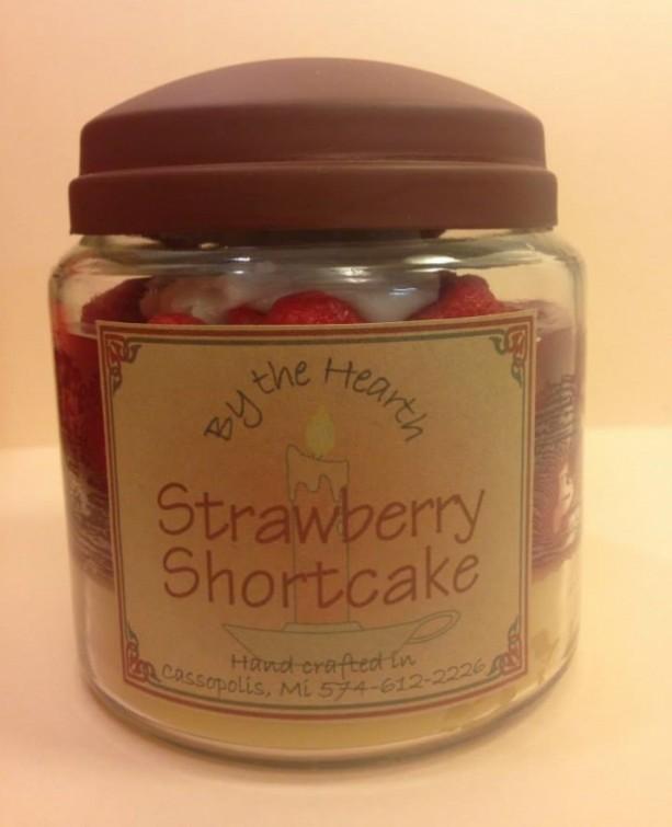 Strawberry Shortcake Candle