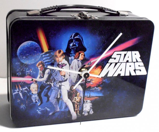 Star Wars Lunch Box Clock